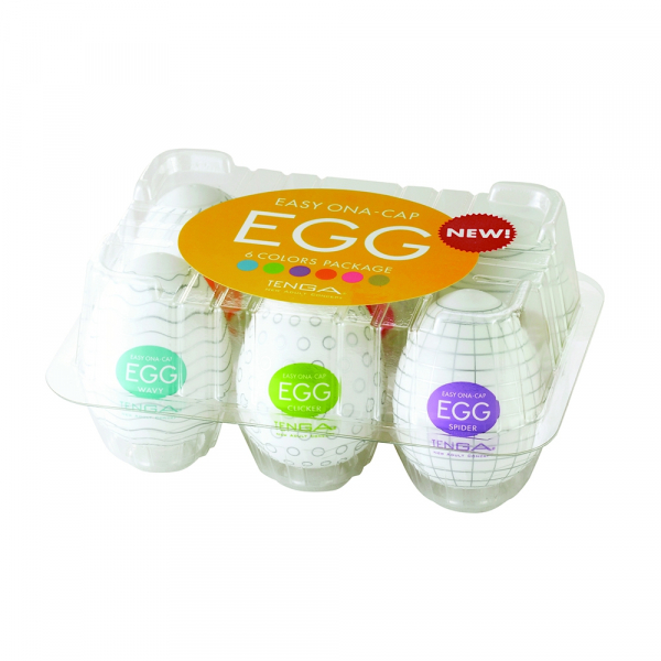 EGG VARIETY - BOITE DE 6 OEUFS DIFFERENTS